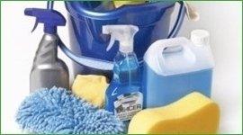 detersivi per la pulizia di superfici diverse