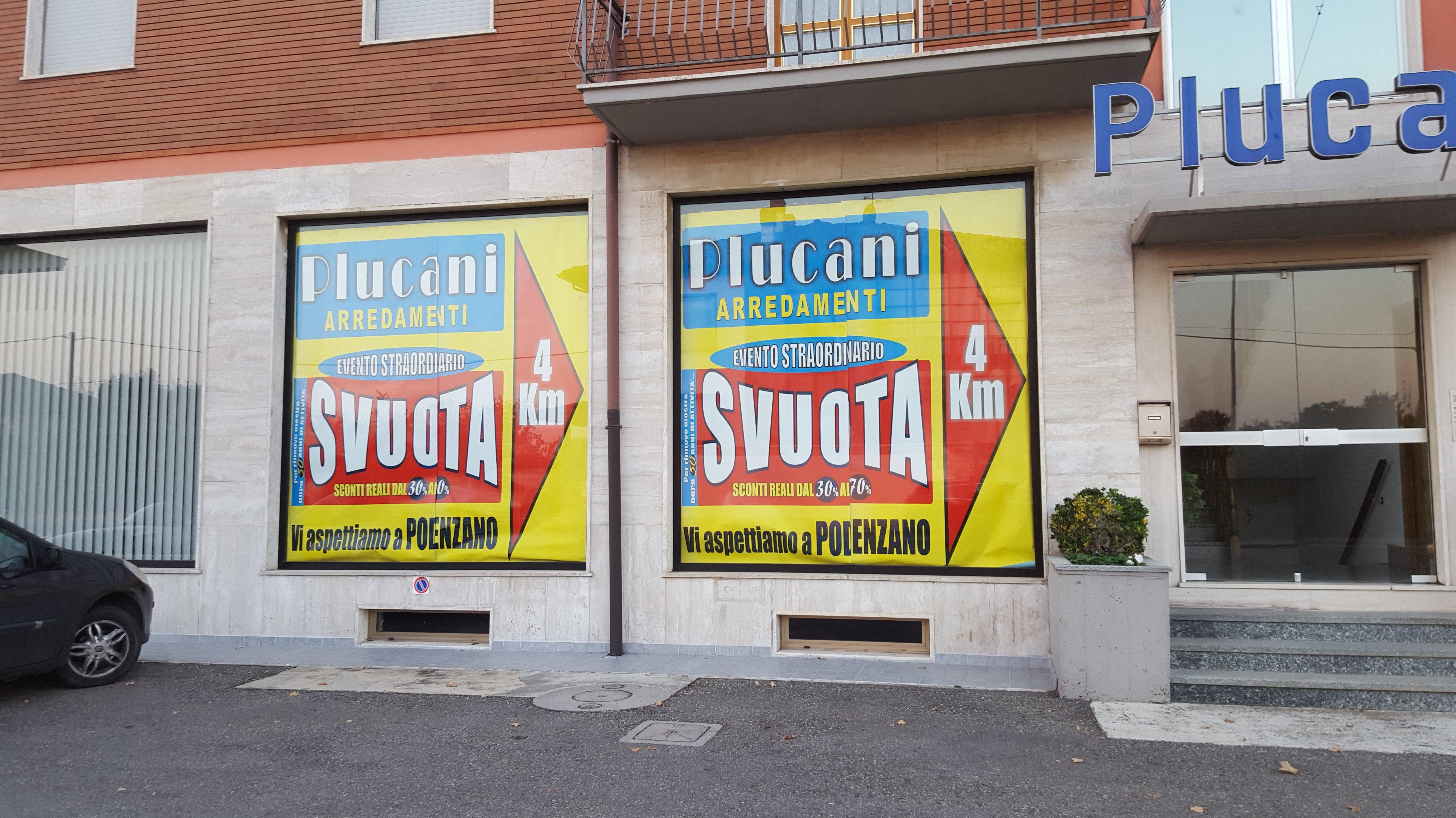 cartelli pubblicitari Svuota