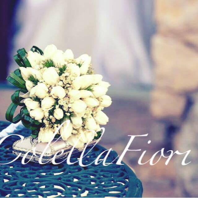 bouquet matrimonio a nome Colella fiori