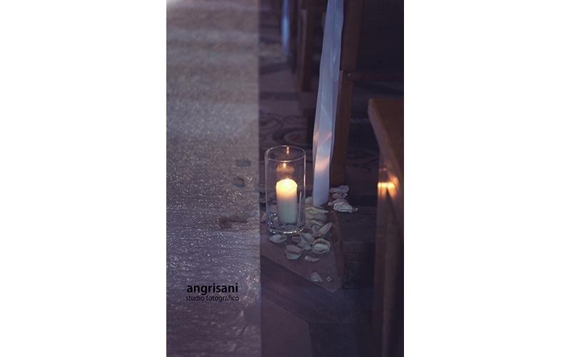 candela per terra