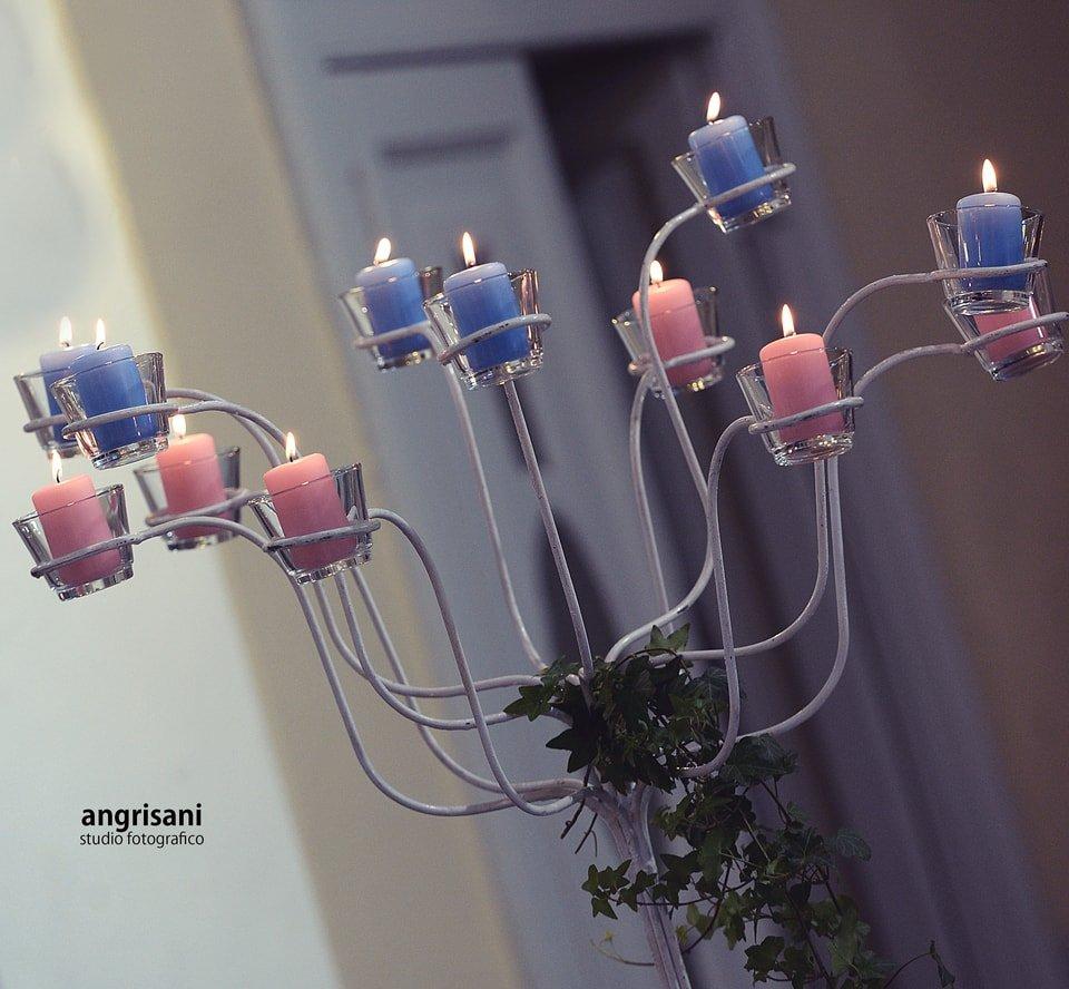 candelabro viola