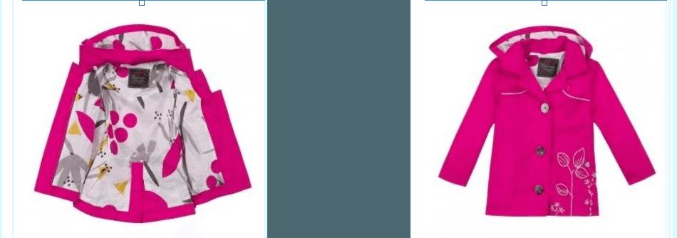 cappotto rosa per bambina