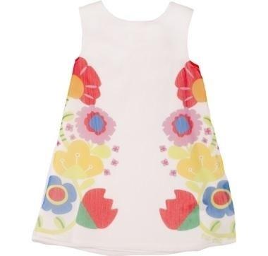 abbigliamento tuc tuc vestito bambina con fiori
