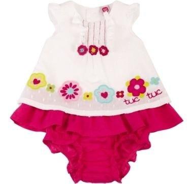 abbigliamento tuc tuc body bianco con le frappe rosa