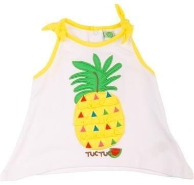 abbigliamento tuc tuc canottiera con ananas disegnata