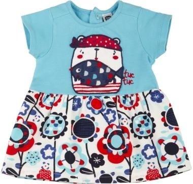 abbigliamento tuc tuc vestito bambina con immagine di un orsetto