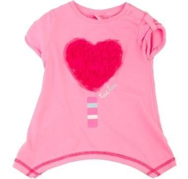 abbigliamento tuc tuc maglia rosa con cuore rosso
