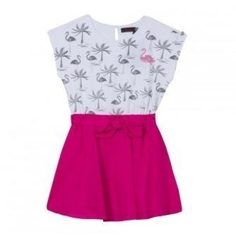 abbigliamento catimini bianco e rosa
