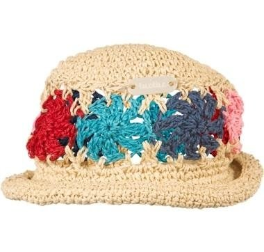 cappello ricamato bambina