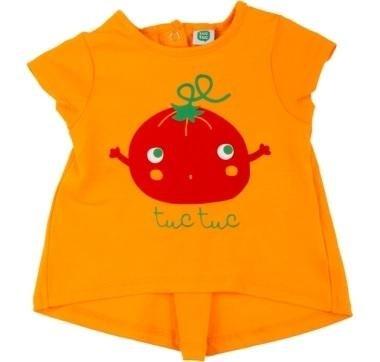 abbigliamento tuc tuc maglietta arancione
