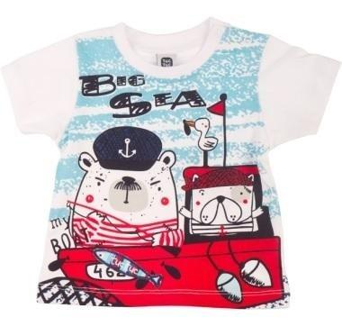abbigliamento tuc tuc maglietta con scritto BIG SEA