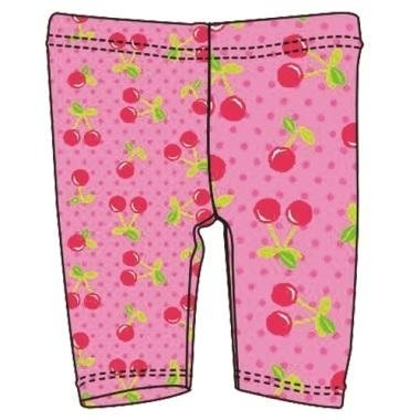 abbigliamento tuc tuc pantaloni con ciliege disegnate