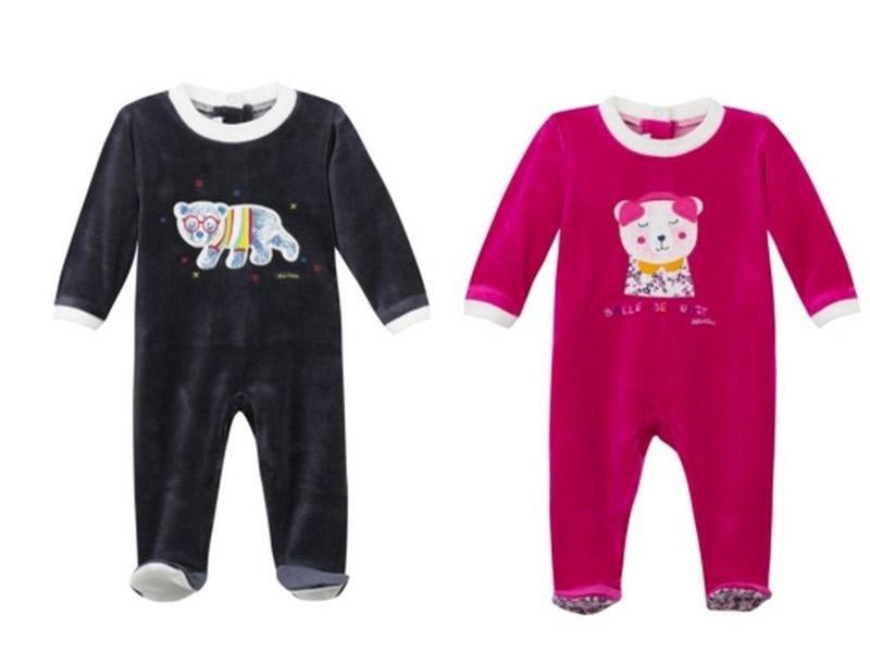 collezione Absorba vestito nero e rosa
