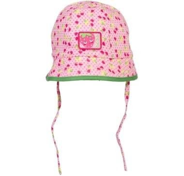 cappello bambina rosa