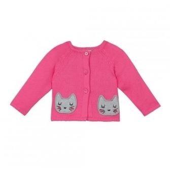 maglie catimini rosa con due gatti rappresentati