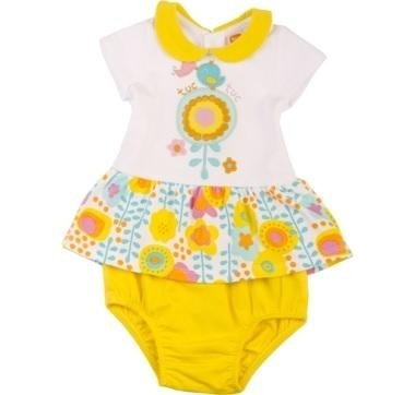 abbigliamento tuc tuc body giallo