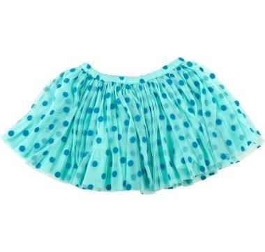 abbigliamento tuc tuc gonna con pallini blu
