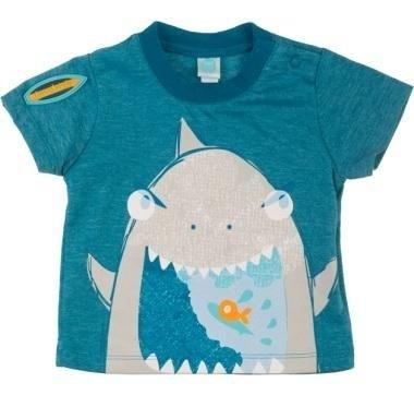 abbigliamento tuc tuc maglia blu con squalo