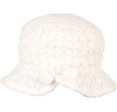 cappello bianco bambina
