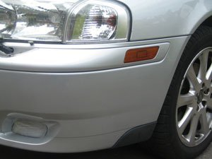 Volvo Bumper Scratch After