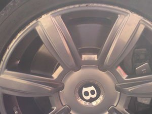 Bentley Wheel Before Repair
