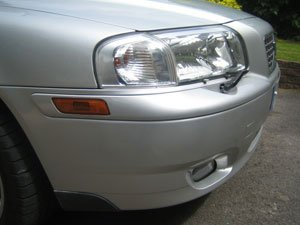 Volvo Bumper Scuff After