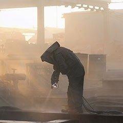Sabbiatura industriale metalli