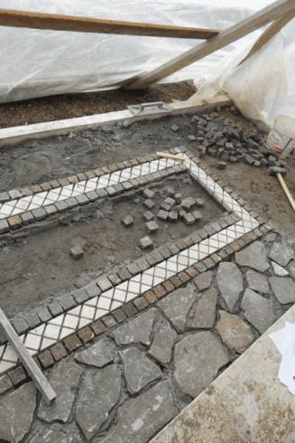 Realizzazione mosaici
