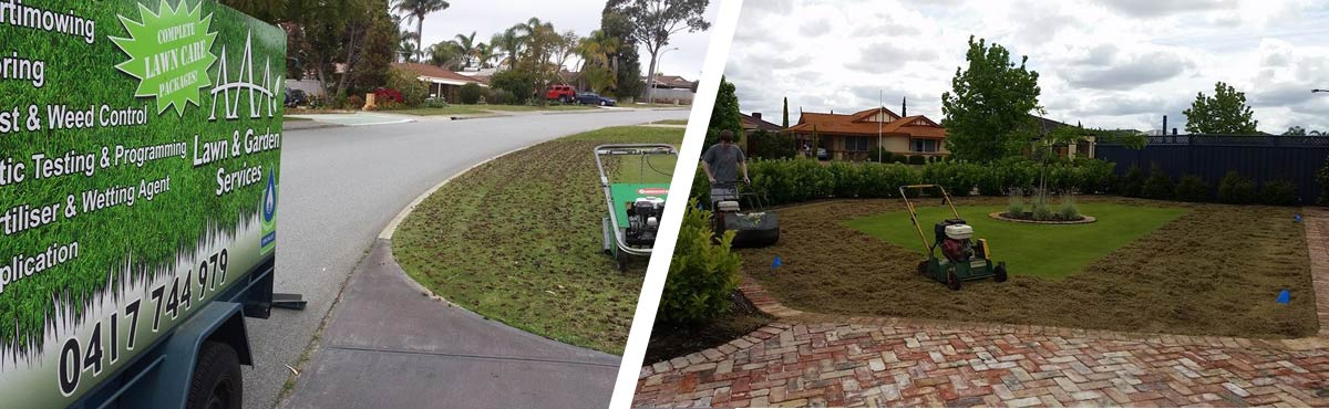 Lawn care hillarys aaa lawn care vertimowing for Garden maintenance van
