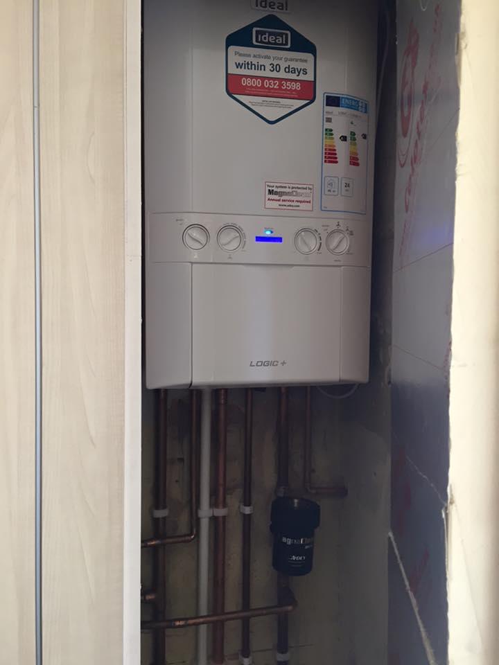 boiler in bedroom