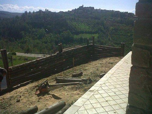 Steccati in legno a Cuneo
