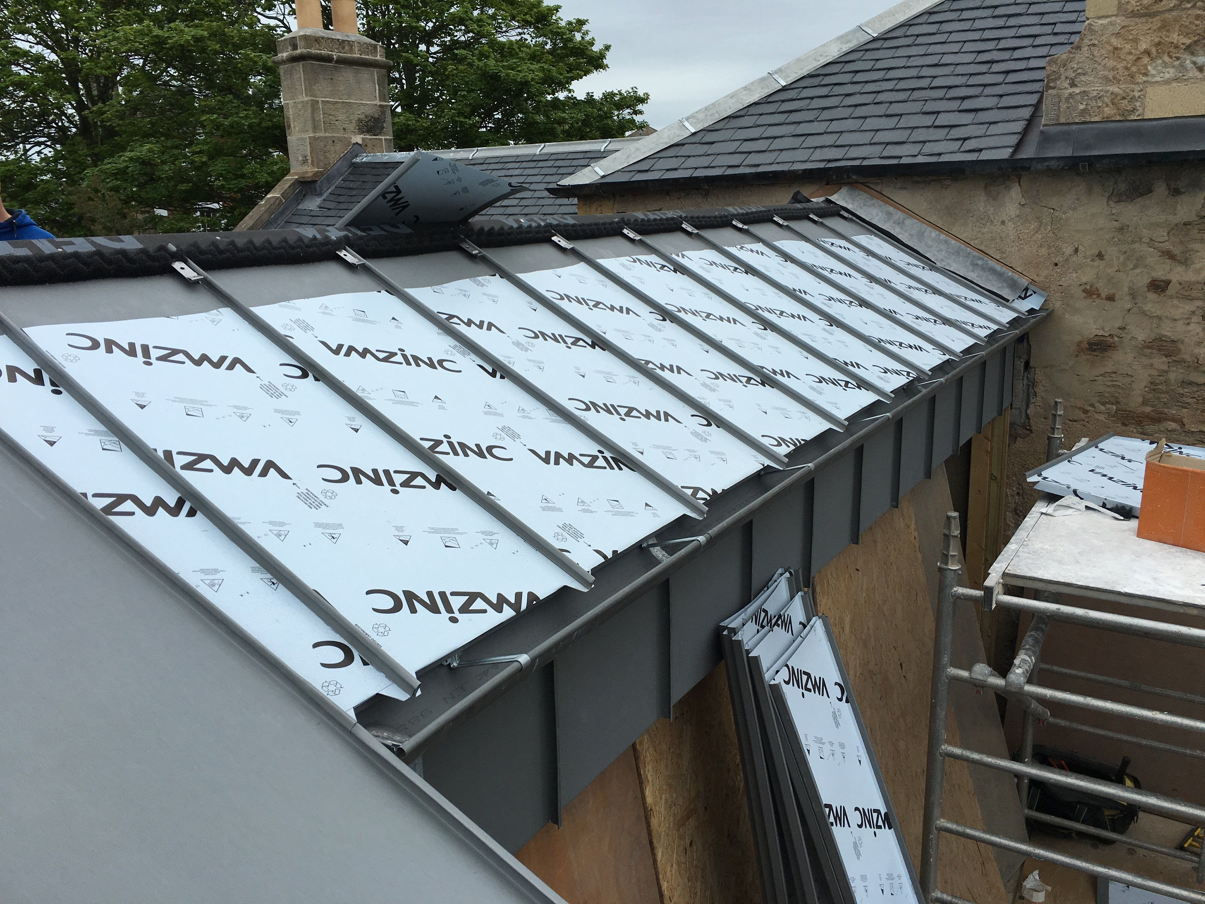 Durable And Affordable Zinc Roofing Services In Glasgow