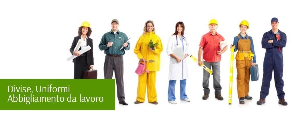 abbigliamento divise da lavoro
