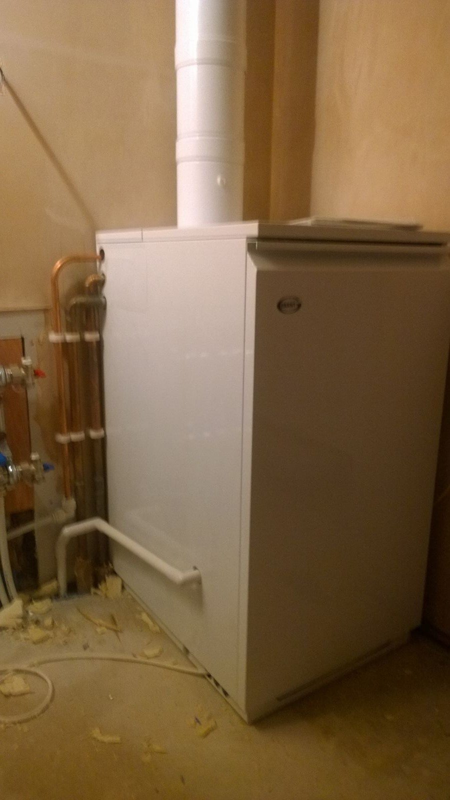central heating supply