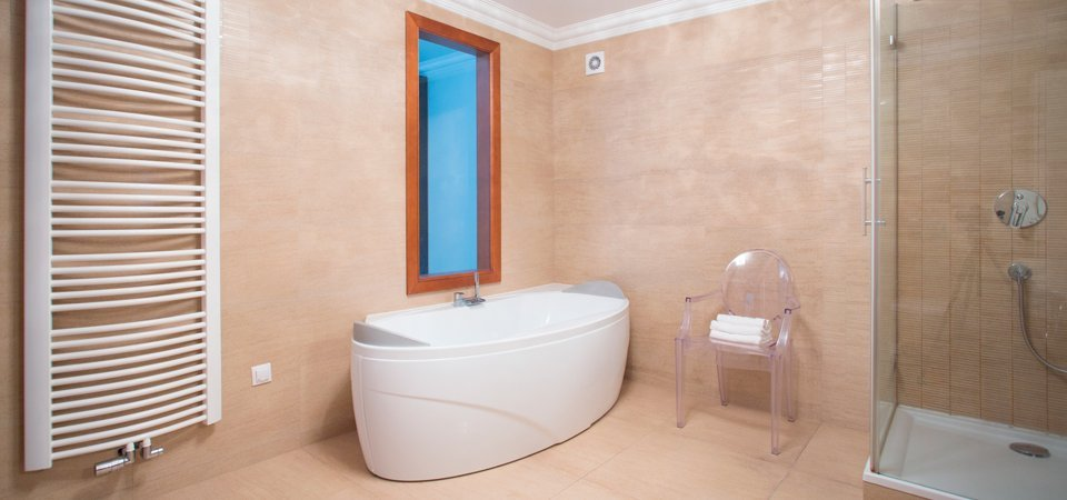 bathroom heating and plumbing