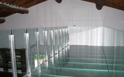 soppalco in vetro