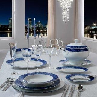 piatti disegno blu