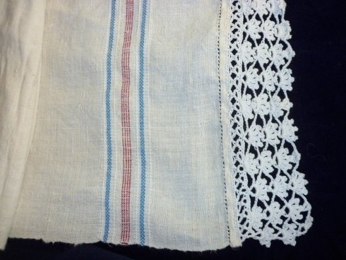 Asciugamano al telaio