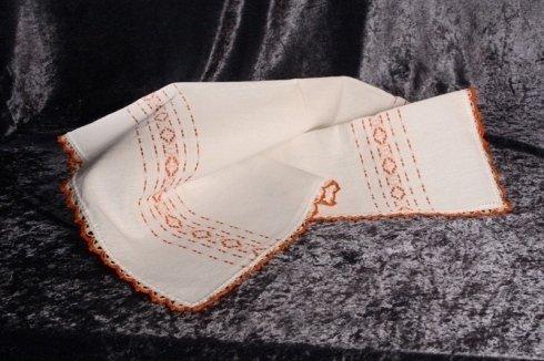 Lino grezzo tessuto al telaio a mano