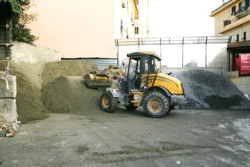 sabbia e terriccio