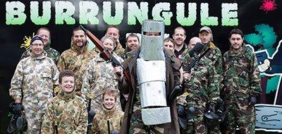 burrungule park paintball team