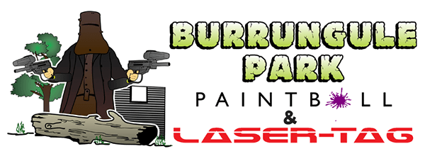 burrungule park paintball business logo