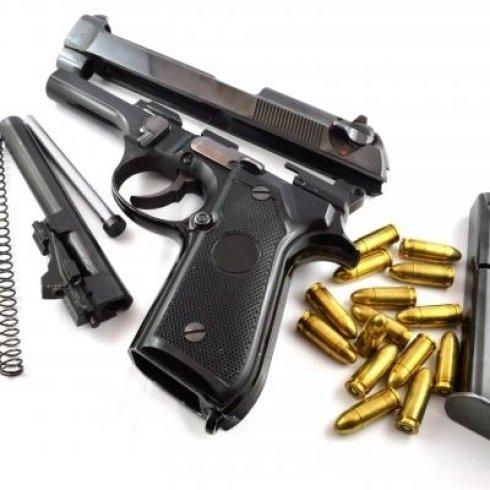 Pistola sportiva da poligono di tiro