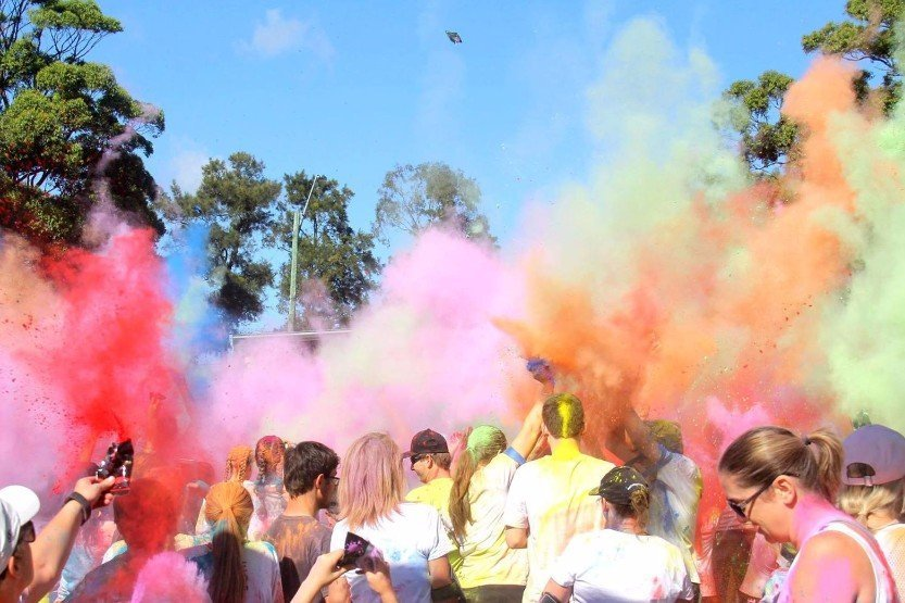 Dye Hard Fun Run Blacktown
