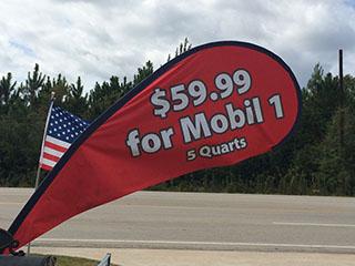 Mobil 1 Oil Lumberton, TX