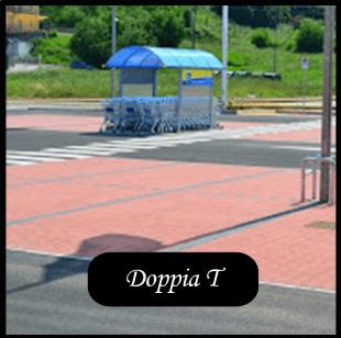 villetta con pavimentazione tipo DOPPIA T