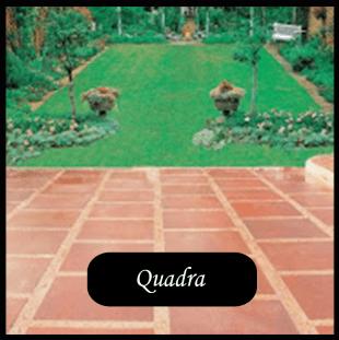villetta con pavimentazione tipo QUADRA