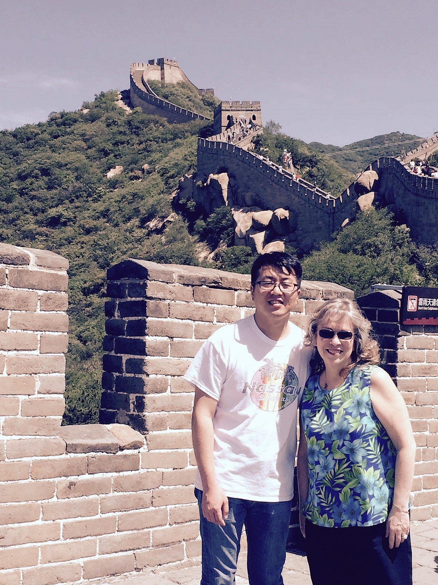 Mirta Martin in China