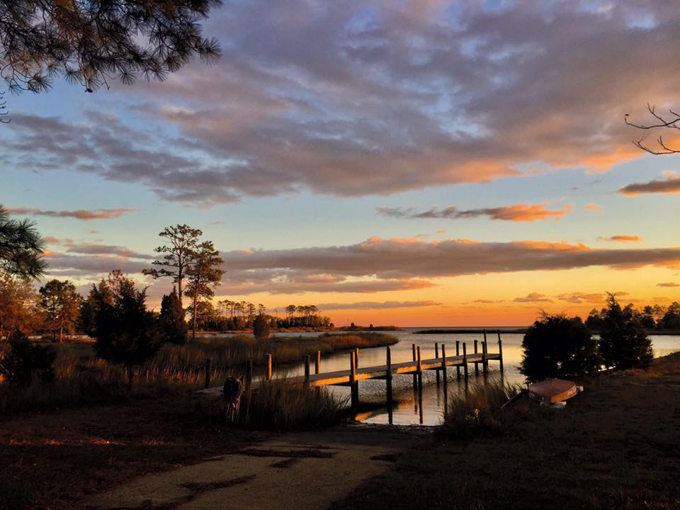 Mirta Martin's photograph of a sunset