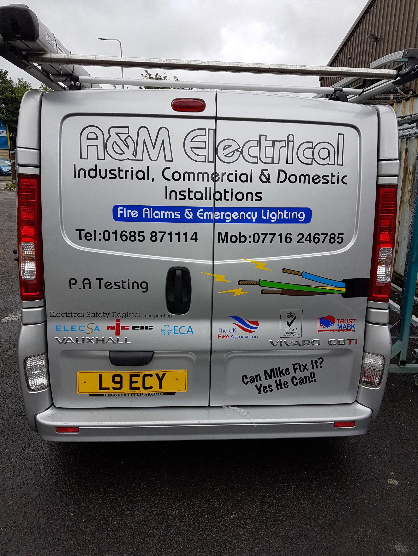Electrical maintenance van